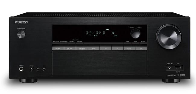 Onkyo estrena receptor AV de gama baja, el TX-SR383, un modelo para iniciarnos en el mundo del cine en casa