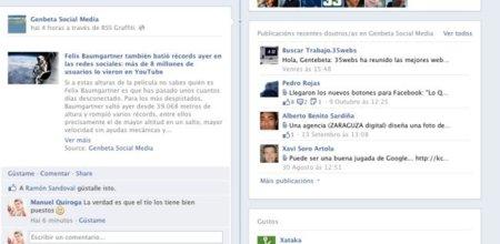 Facebook permite el uso de emoticonos en los comentarios de estados