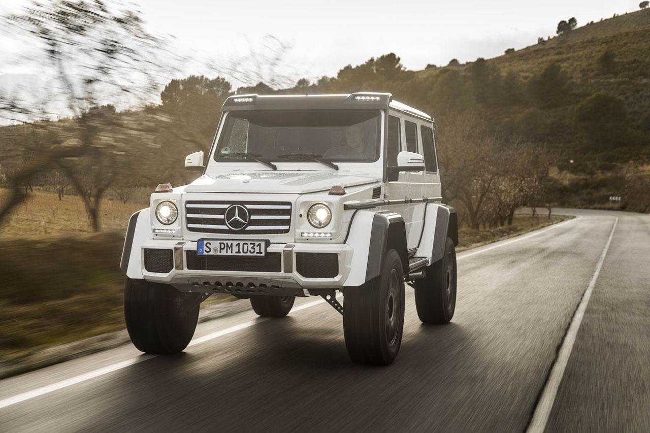 Foto de Mercedes-Benz G 500 4x4², toma de contacto (88/127)
