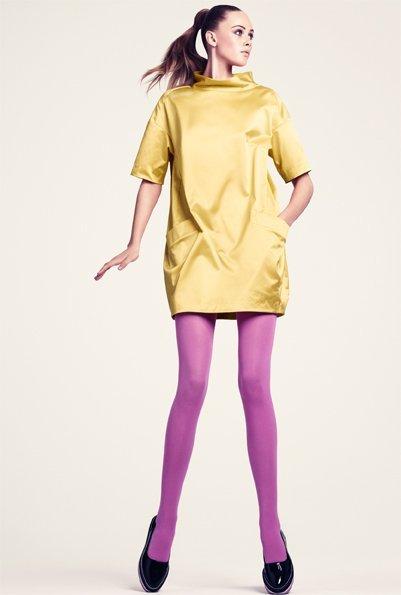 HM vestido amarillo