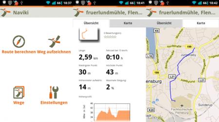 Naviki: una nueva aplicación de navegación diseñada específicamente para bicicletas