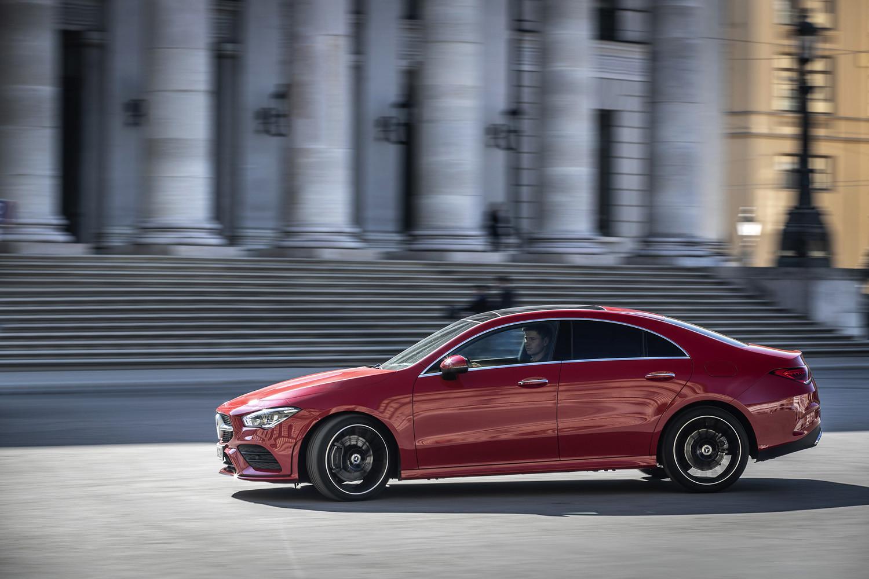 Foto de Mercedes-Benz CLA Coupé 2019, toma de contacto (20/248)