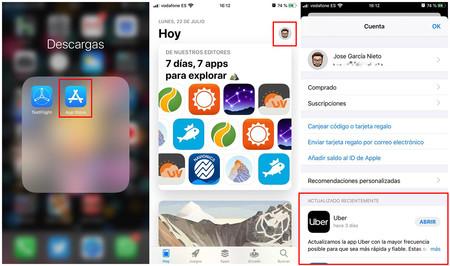 Actualizar Apps