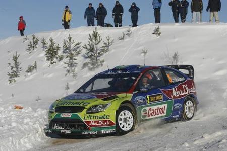 Mikko Hirvonen lidera y Dani Sordo aguanta