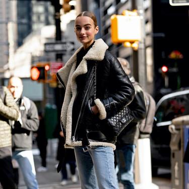 Siete chaquetas de aviador de borrego con las que dar un toque retro a tu look al mismo tiempo que afrontas las bajas temperaturas