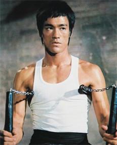 Bruce Lee, símbolo de paz