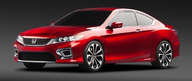 Honda Accord 2013 coupé concept