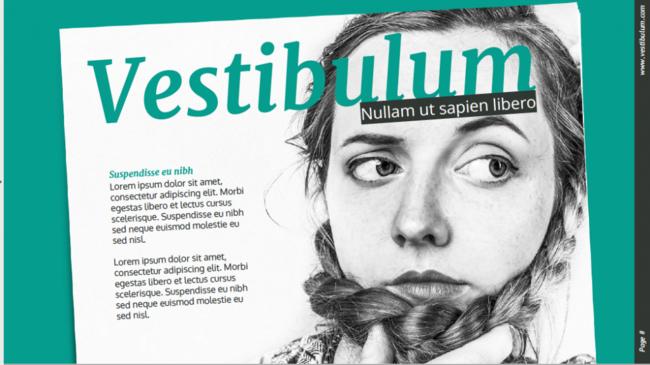 Magazine Free Presentation Template 1024x575