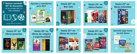 Libros, películas y mandas con descuento en México