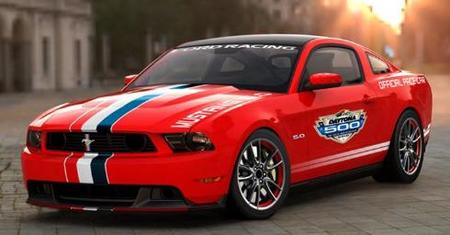 El Ford Mustang GT, Pace Car en las 500 Millas de Daytona