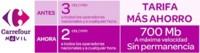 Carrefour móvil rebaja a 2 céntimos/minuto su tarifa con 700 MB por 6.90 euros