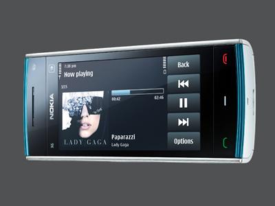 El Nokia X6 tiene una pantalla capacitiva