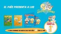 Colección de DVDs Baby Looney Tunes con El País