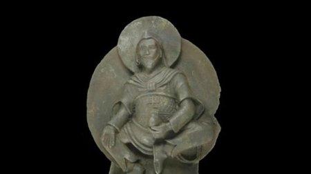 El dios tallado en un fragmento de meteorito
