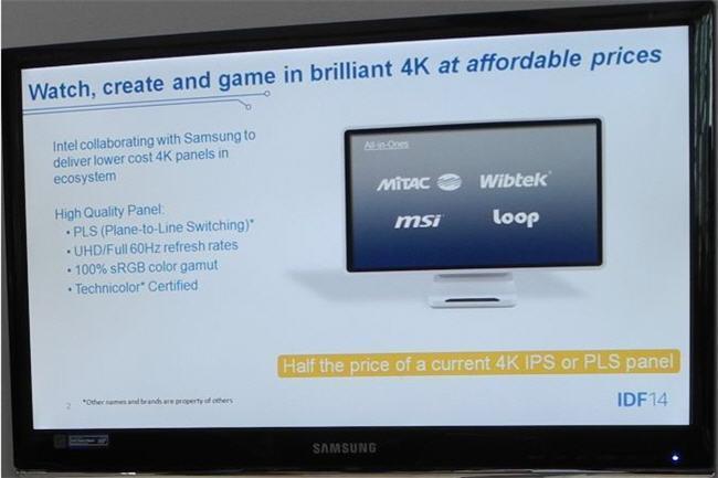 Intel promete monitores y equipos AiO UHD (4K) más económicos muy pronto