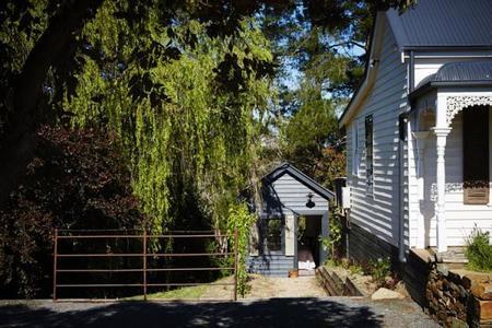 vieja cabaña de mineros transformada en alojamiento de lujo