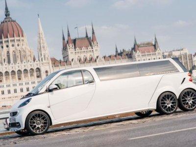 Smart 6x6, porque después del Lada Niva 6x6 todo es posible
