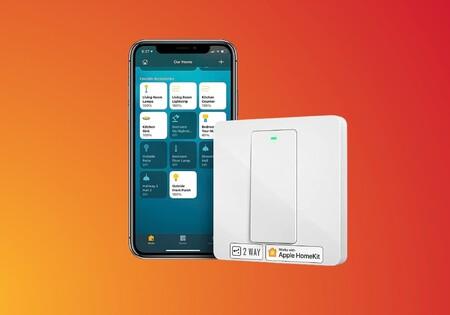"""El interruptor """"inteligente"""" Meross funciona con Alexa, Google y Siri y cuesta poco más de 20 euros en Amazon con cupón"""