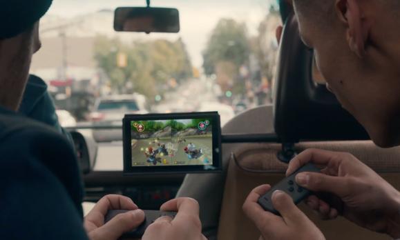 Nintendo Switch Coche