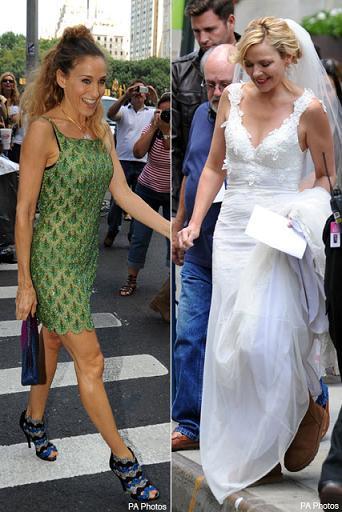 Samantha vestida de novia en Sexo en Nueva York 2, ¿habrá boda?