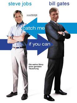 Carteles de cine trucados con Steve Jobs de protagonista
