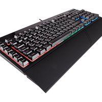 Si quieres un teclado gaming por poco dinero, el Corsair K55 está hoy en Amazon a sólo 44,95 euros