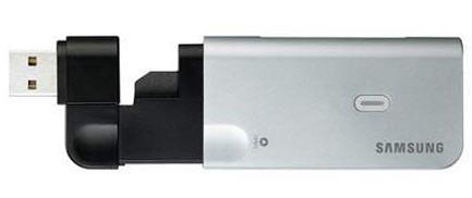 Samsung Z800, módem HSDPA y lector de tarjetas
