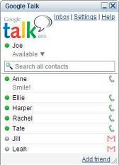 Google Talk, el esperado mensajero de Google