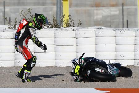 Reparar una moto de MotoGP tras una caída cuesta como mínimo 15.000 euros y se puede ir hasta los 100.000