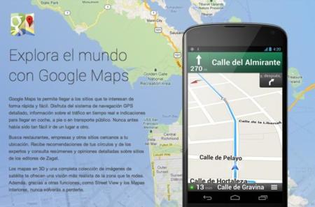 nexus 4 mapas google