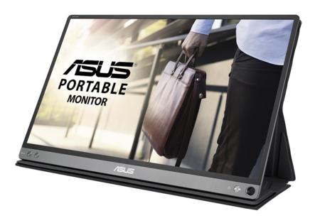 Asus quiere darte libertad de movimientos con el nuevo monitor portátil Asus ZenScreen MB16AC