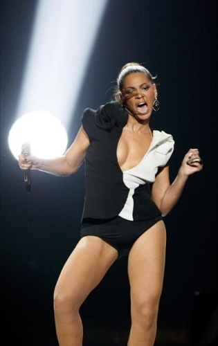 Beyonce Knowles en los American Music Awards 2008