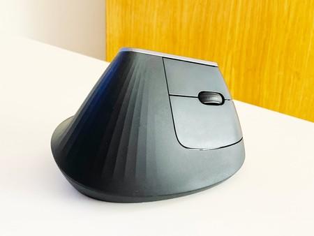 Cara externa del ratón, con la botonera principal.