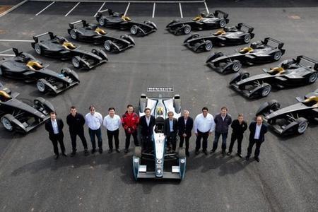 Los primeros monoplazas de la Fórmula E llegan a los equipos participantes