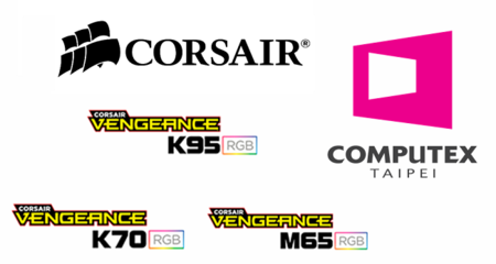 Corsair mostrará nuevos periféricos con iluminación multi-color en Computex 2014