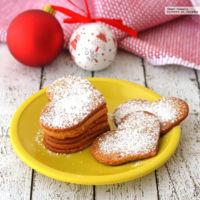 Galletas de turrón con un toque de naranja. Receta para Navidad