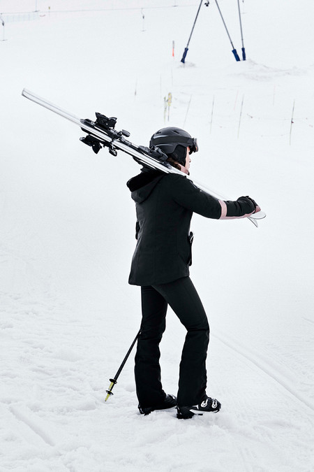 Oysho Gymwear Ski Editorial 18