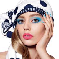 Milky Dots el maquillaje para este verano creado por Peter Philips inspirado en los lunares