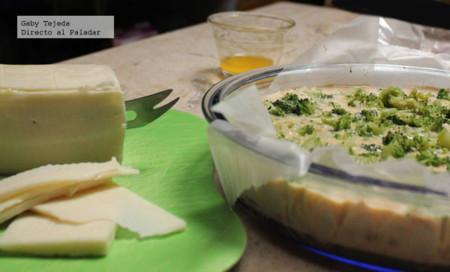 Budín de garbanzo, brócoli y yogurt agtc c m d a