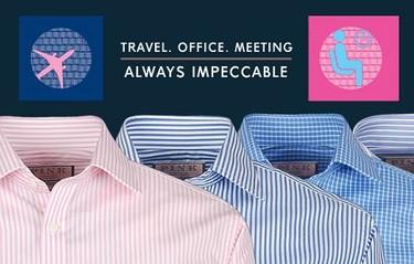 Cómo llegar a destino con la camisa presentable tras horas de vuelo