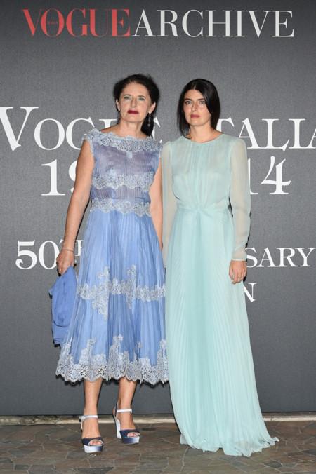 Luisa Beccaria y Lucilla Bonaccorsi