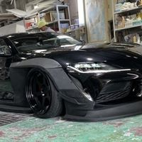 Toyota Supra se disfraza como auto de carreras gracias a este kit que supera los 300,000 pesos