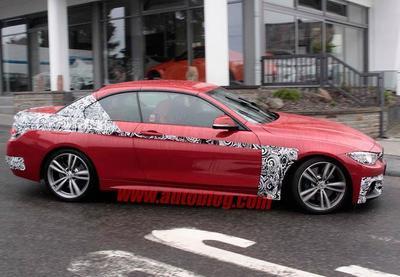 Fotos espía: BMW Serie 4 Convertible... espera, ¿es eso un Serie 1 GT?