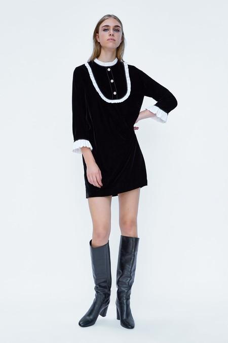Vestido Terciopelo Sixties