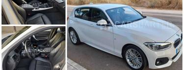 Si quieres un BMW 116 Serie 1 con su acabado más deportivo, este puede ser tu coche