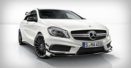 Mercedes-Benz A 45 AMG, paquetes de equipamiento y primer vídeo