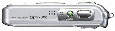 Pentax Optio W10, la todoterreno a prueba de agua