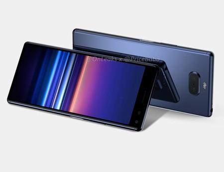 Los primeros renders del Xperia 20 anticipan la próxima gama media de Sony en 2019