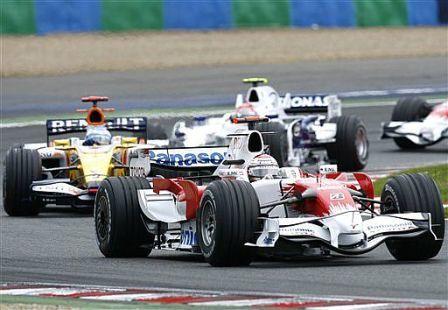 Jarno Trulli, un podium que sabe a gloria