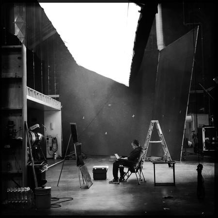Joe Russo en el set de Vengadores 4